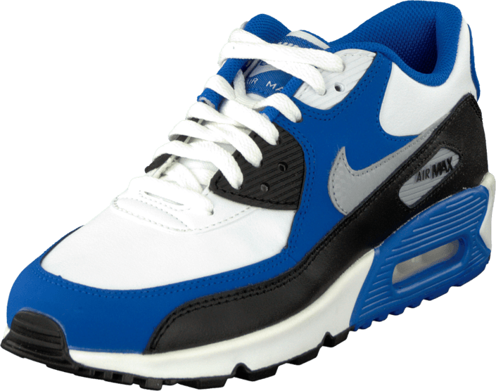 the best attitude 7533c f5330 Air Max 90 (GS) White/Blue/Grey