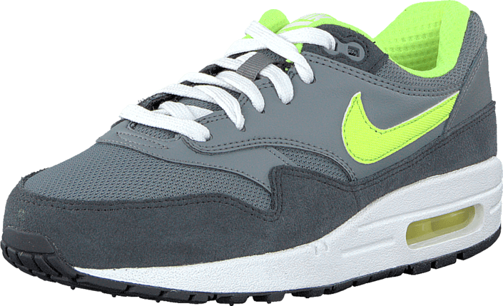 Nike Air Max 1 (Gs) Cool GreyVolt Anthrct White