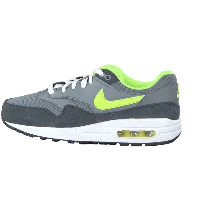 Nike Air Max 1 (Gs) Cool GreyVolt Anthrct White