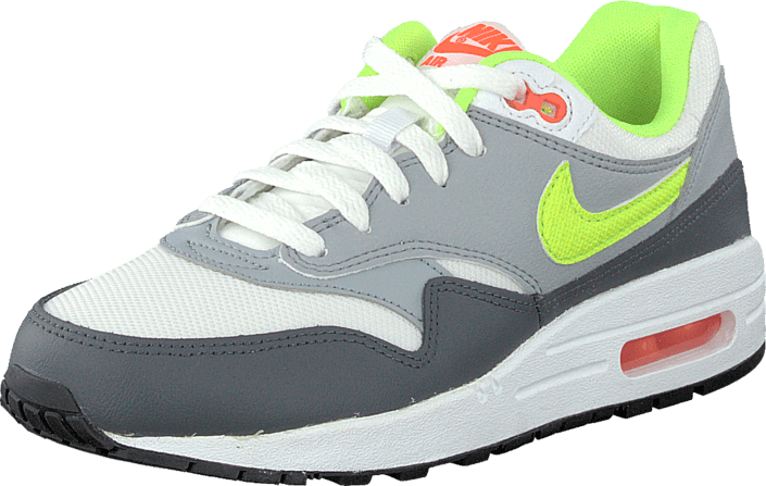 Inaccesible Inmunidad saltar  Nike Air Max 1 (Gs) White/Grey/Volt Green | Footway