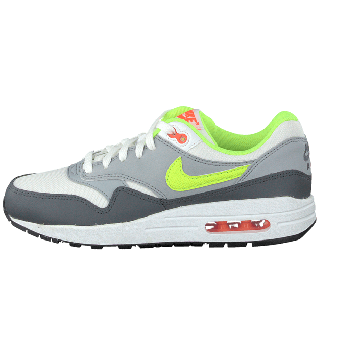 Osta Nike Nike Air Max 1 (Gs) WhiteGreyVolt Green kengät