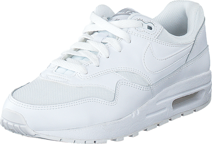 nike air max 1 wit zilver