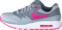 quality design 95696 45aed Nike - Nike Air Max 1 (Gs) Wolf Grey Hypr Pink-Cl