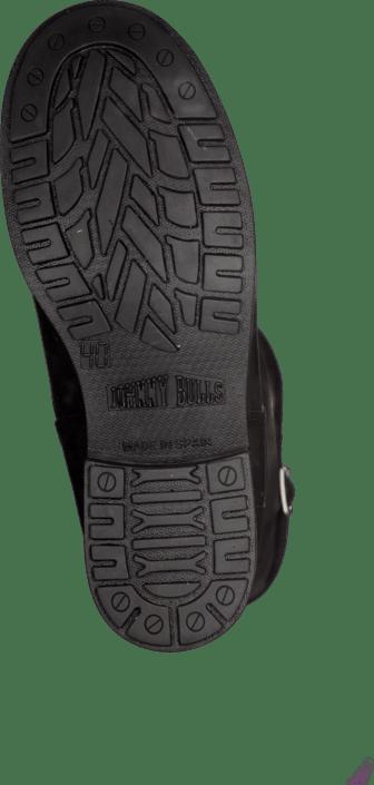 Mid Sko Black Highboots Boot Warm Johnny Sorte Online Lining silver Kjøp Bulls wfqEET