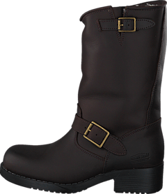 Mid Boot Warm Lining Brown Old Gold