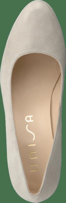 Online Obert Sko Kjøp Unisa Heels Grey Beige 6wq8a7xZX