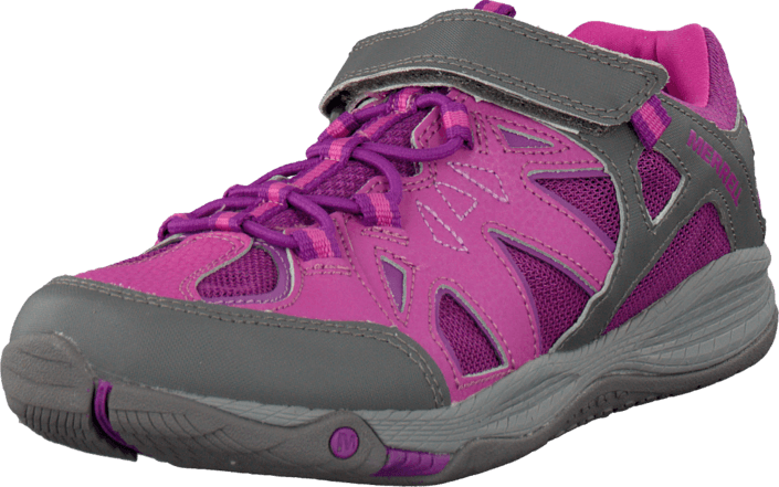 43c72a52e1f6 Buy Merrell Allout Blaze Aerosport Grey Fuchsia pink Shoes Online ...