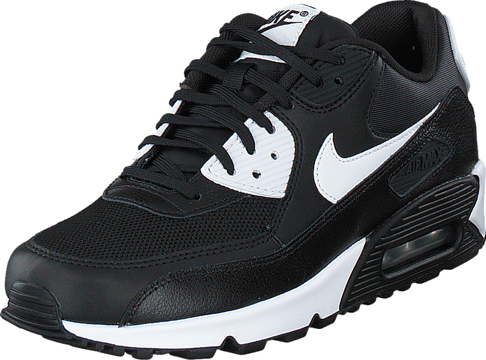 sports shoes a8bb6 ac191 Nike - Wmns Air Max 90 Essential Black White-Metallic Silver