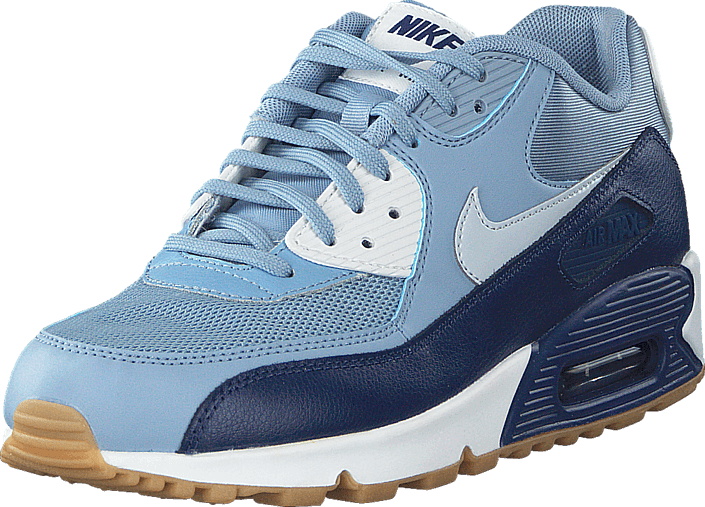 super popular dedb6 ee963 Nike - Wmns Air Max 90 Essential Blue Grey Pure Platinum