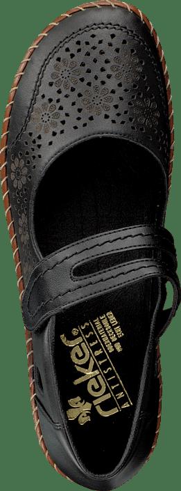Kjøp Rieker 44875-00 Black Sko Online