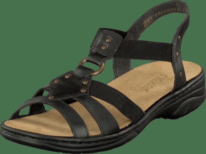 rieker sandaler svarta