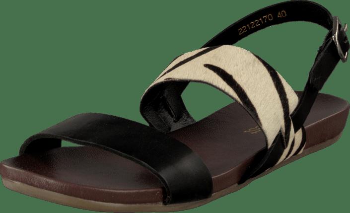 zebra Køb Park West 00 50881 Sorte 22122170 Tøfler Og Online Sko Black Sandaler rTgIHqUg
