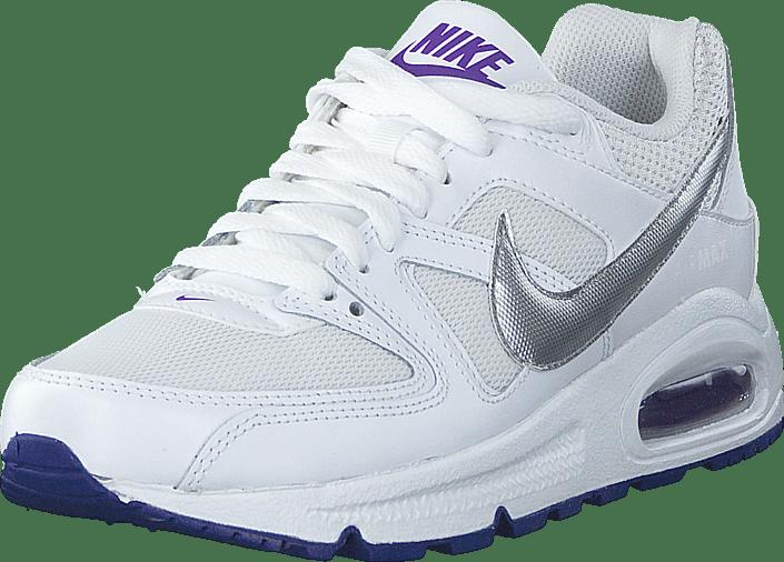 Kjøp Nike Air Max Command (Gs) WhiteMetallic Silver Hypr
