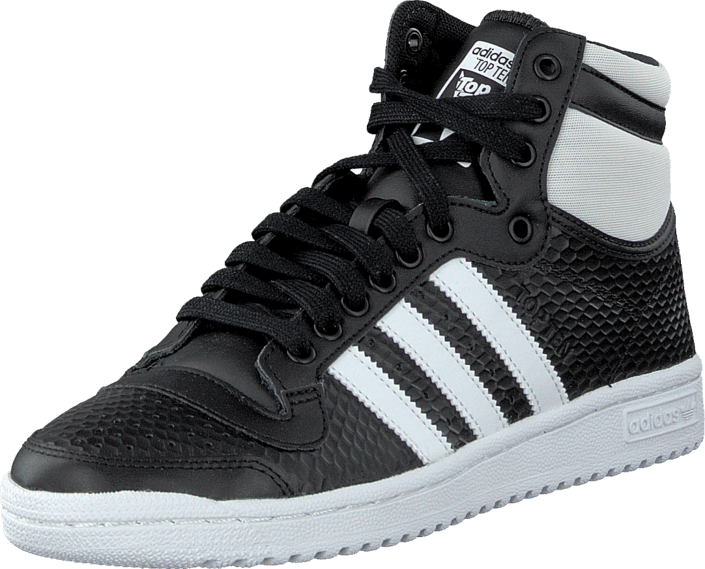 adidas Originals - Top Ten Hi W Core Black/White
