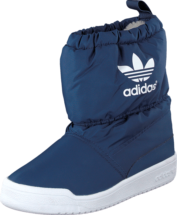 Adidas Originals Slip On Boot K Oxford Blue Blau Schuhe Kaufen