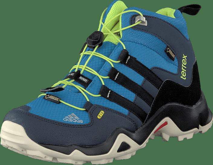 6ac68672b47 adidas Sport Performance - Terrex Mid Gtx K Super Blue/Core Black/Yellow