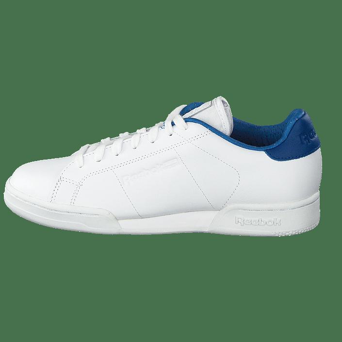 e67bb5dbc53 Buy Reebok Classic Npc II El White Handy Blue white Shoes Online ...