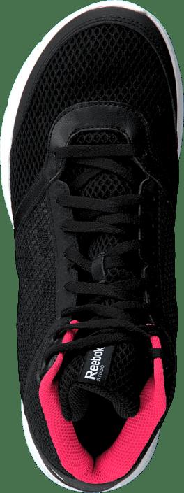 50f4d9ca2d006f Buy Reebok Cardio Workout Mid Rs Black Grey Neon Cherry White black ...