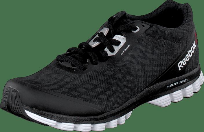 125c59bd56f Buy Reebok Sublite Super Duo Black Silver White Gravel black Shoes ...