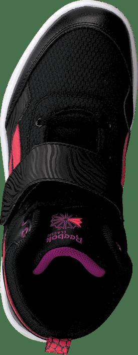 6b17dd3f466 Köp Reebok Reebok Mission Black/Fuchsia/Neon Cherry/Wht svarta Skor ...