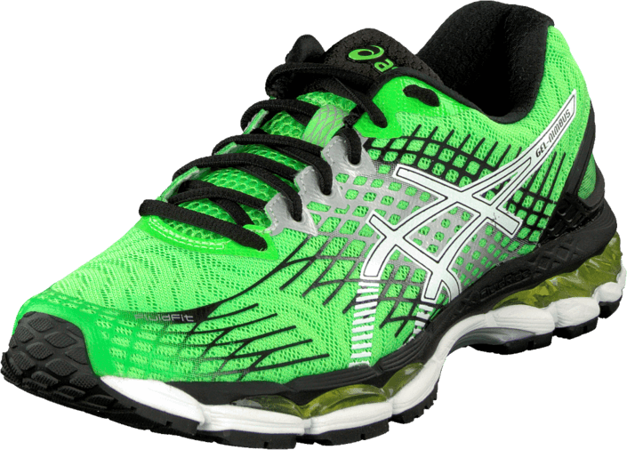 meilleur service 1ca95 37e21 Buy Asics Gel Nimbus 17 Green/White/Black green Shoes Online ...
