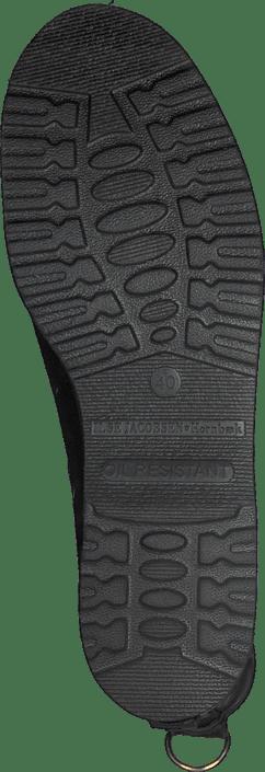 Ilse Jacobsen - Short Rubberboot Flat Sole Black
