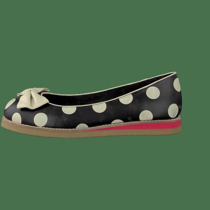 Osta Lola Ramona Cecilia 412801 Black Cream dots beiget Kengät Online  56c122fcf3