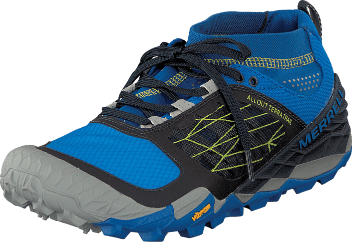 Buy Merrell All Out Terra Trail Blue Dragonfly turquoise Shoes ... 59deb5ae3525