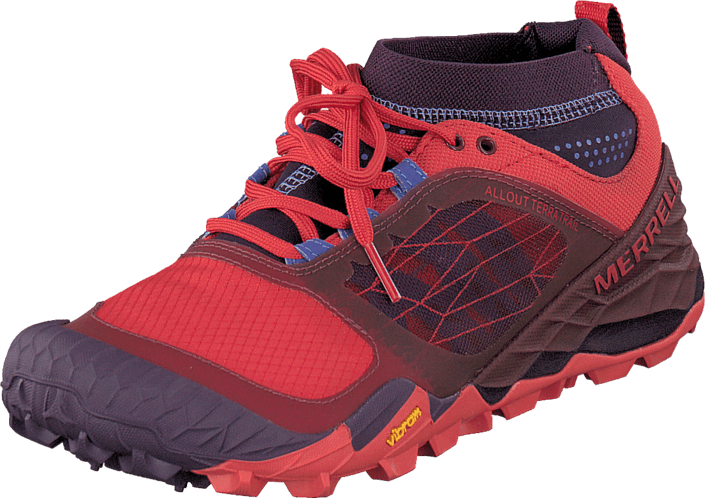 All Out Terra Trail Wild PlumRed