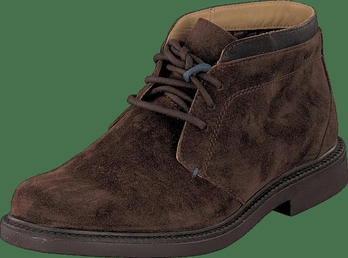 Dk Kjøp Sko Turner Sde Brown Sebago Brune Boots Online lea Chukka 8xSntx