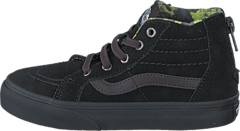 SK8-Hi Zip (MTE) black/lime punch