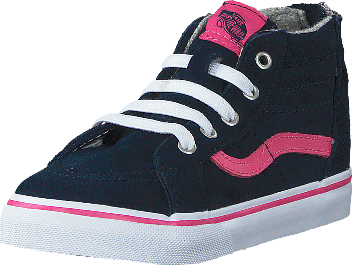 Vans - Sk8-Hi Zip (MTE) navy/pink