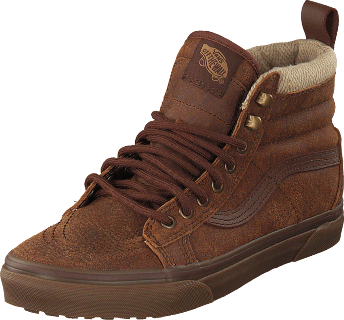 e91f2a69e5 Buy Vans SK8-Hi MTE (MTE) brown herringbone brown Shoes Online ...