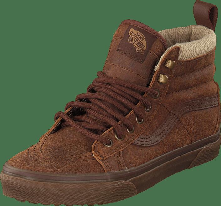 daf53f0224 Buy Vans SK8-Hi MTE (MTE) brown herringbone brown Shoes Online ...