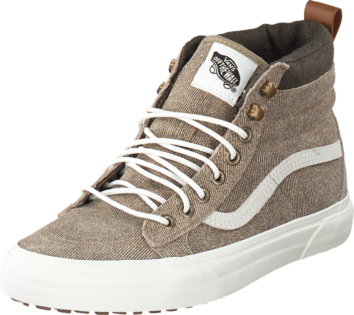 119456ab7a Buy Vans SK8-Hi MTE (MTE) denim suede coriander brown Shoes Online ...