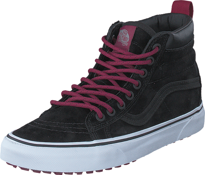 c097d1a35ea3 Buy Vans SK8-Hi MTE (MTE) black beet red black Shoes Online ...