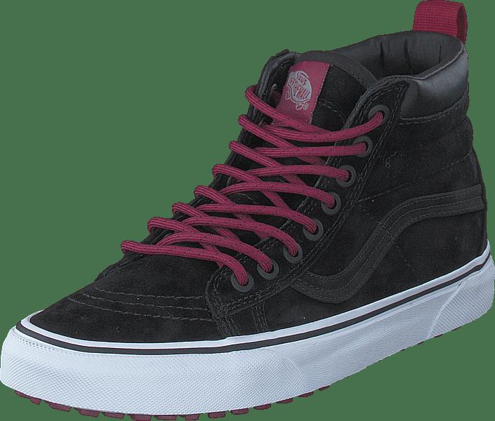 e83dc6fa1c Buy Vans SK8-Hi MTE (MTE) black beet red black Shoes Online ...