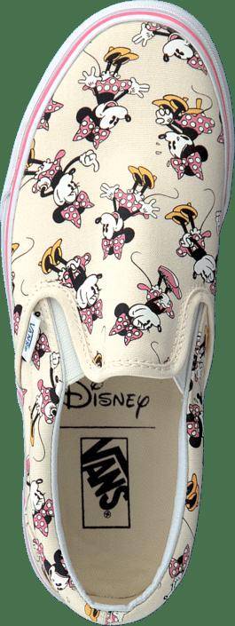 39a55a89c6d Koop Vans Classic Slip-On V0MEGHI (Disney) Minnie Mouse grijze ...