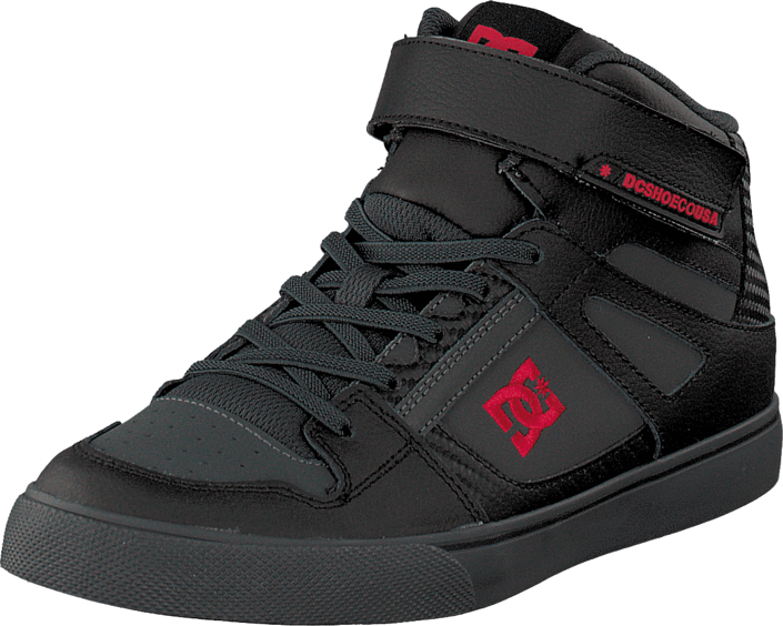DC Shoes - Spartan High Se B Shoe Black/Athletic Red/Battleship
