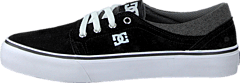 Kids Trase Sd Shoe Black/Grey/White