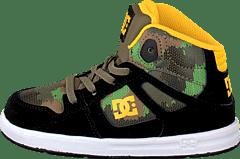 DC Shoes - Tod Rebound Se Ul Shoe Black Camoflage b248e93d62533