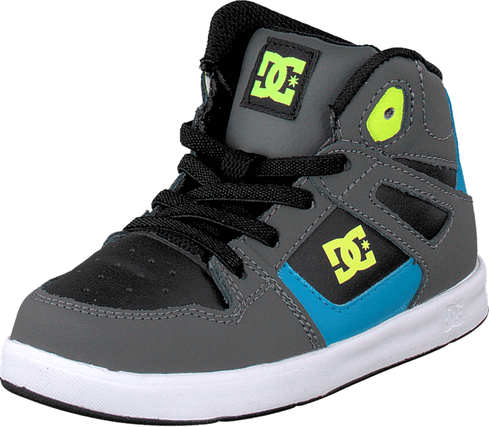 DC Shoes - Rebound Ul Black/Armor/Turquoise
