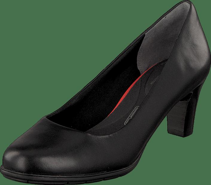 Total Motion 60Mm Heel Black Burn Calf