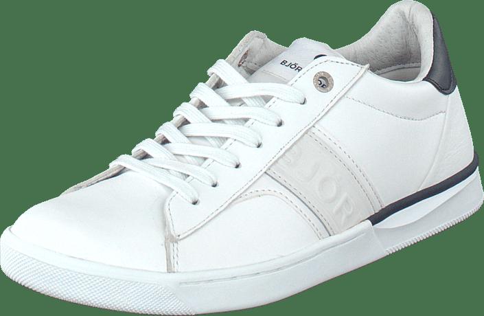 T100 Low Lea M White/Navy