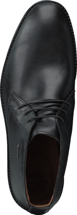 folleto Sequía microscopio  Buy Clarks Chilver Hi GTX Black Leather Shoes Online | FOOTWAY.ie