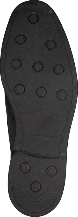 a9c46f5478eb9 Buy Clarks Chilver Hi GTX Dark Brown Nub brown Shoes Online ...