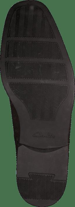 Clarks - Tilden Plain Brown Leather