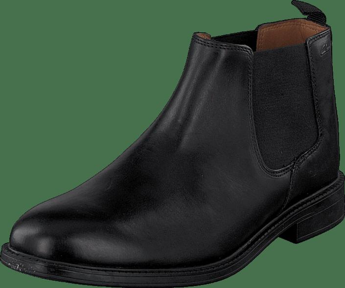 Clarks Boots Støvler Leather Sko 52027 01 Online Top Og Sorte Køb Black Chilver 8Rxvw8qd