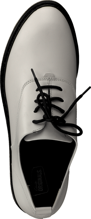 Clarks - Empress Lo White Leather