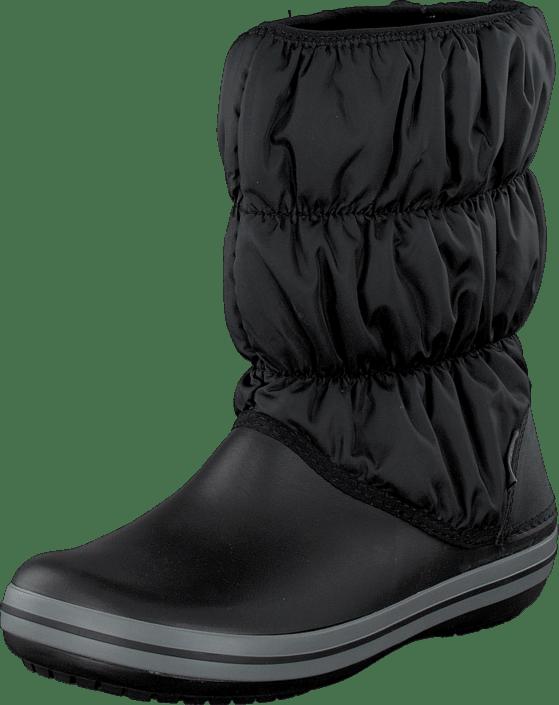 Winter Puff Boot Women Black/Char
